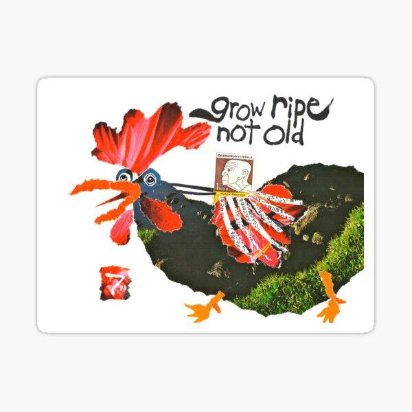 Stamp People Series (Pablo Picasso) Sticker