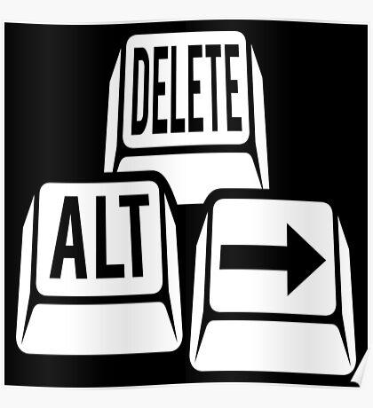 Delete Alt Right Poster