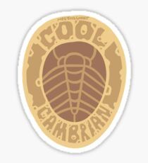 Cool Cambrian Sticker