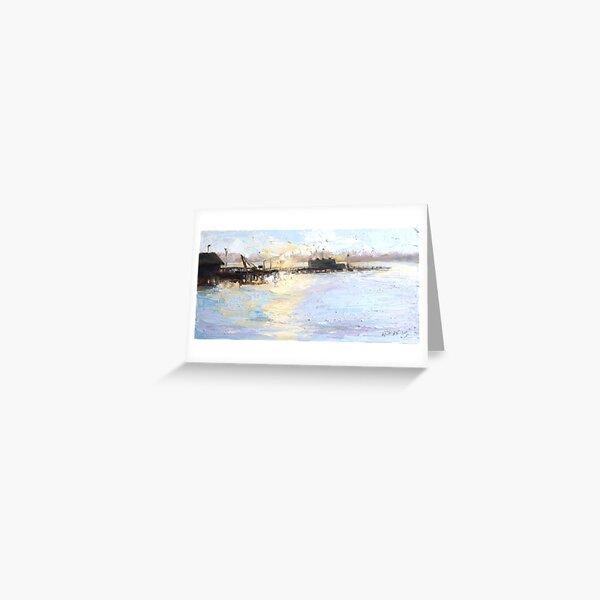 Sunrise Sydney Harbour Greeting Card