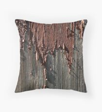 Peeling. Throw Pillow