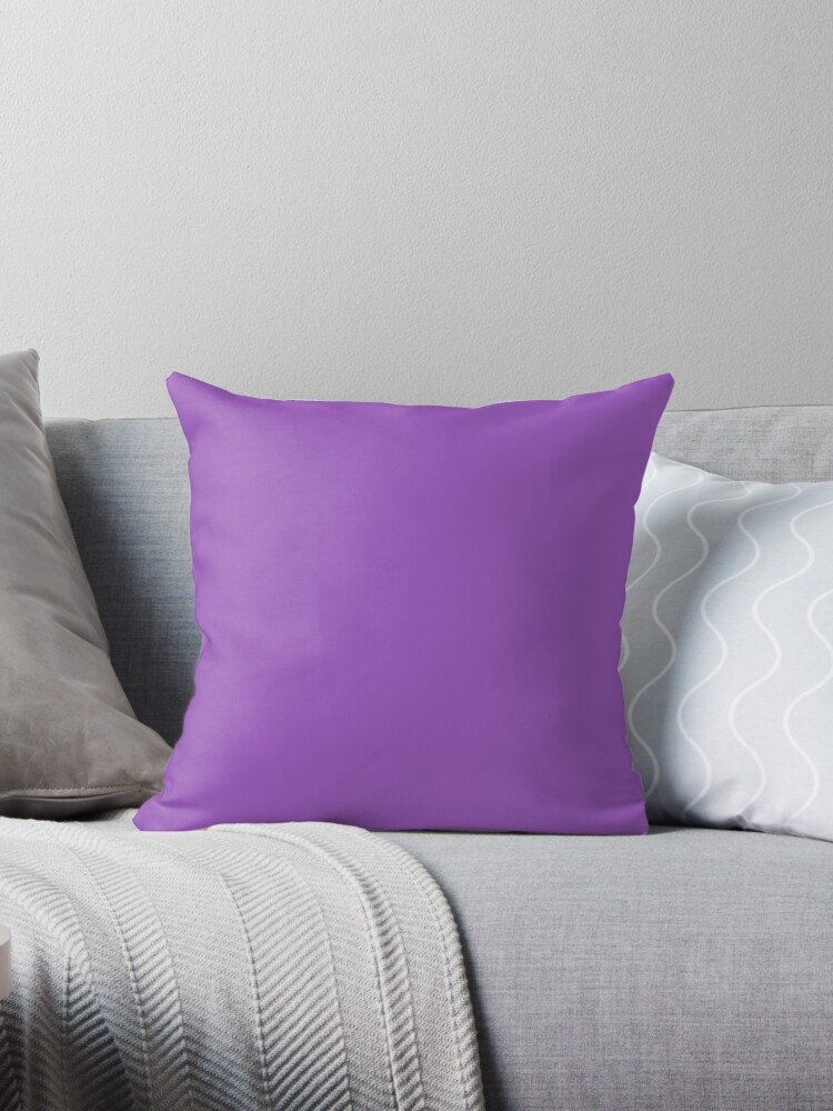 Solid Colour | Deep Lilac| Purple by ozcushions