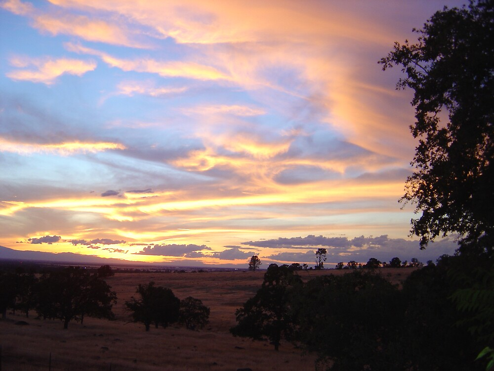 Chico Sunset III by Jerry Stewart