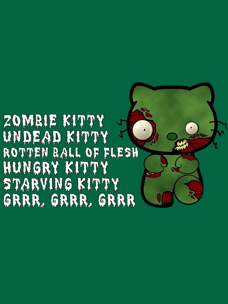 Zombie Kitty | Women's T-Shirt