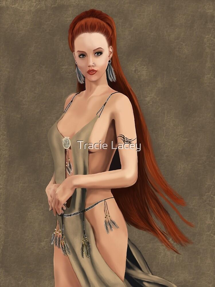 Warrior princess by majikalwhispers