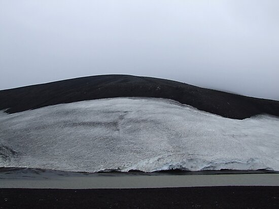 Icescape, Deception Island by John Douglas