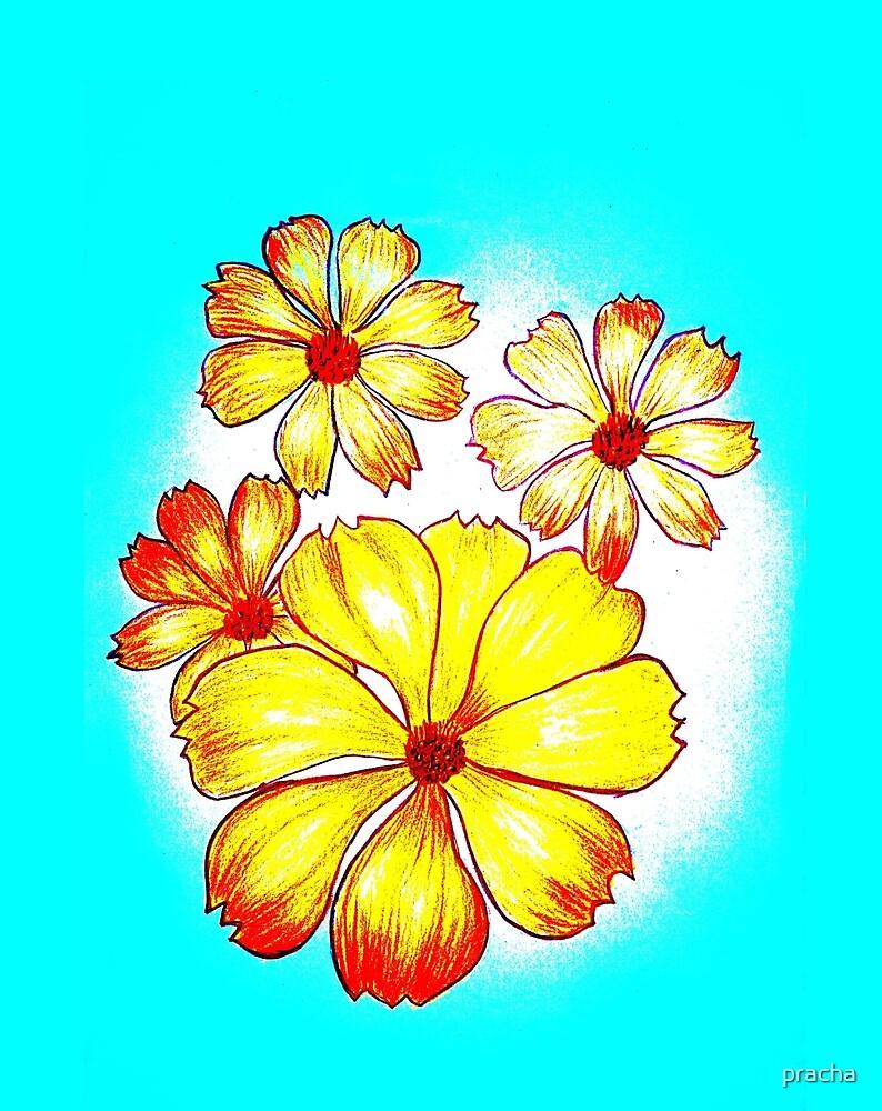 Yellow Flower by pracha