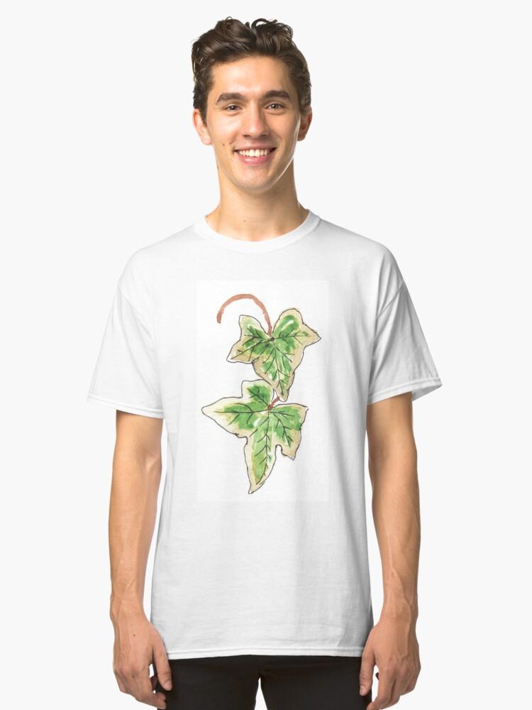 Hedera helix Variegata Classic T-Shirt Front