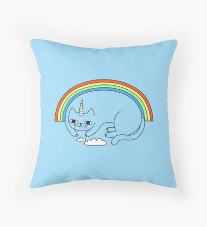 Unicat Throw Pillow