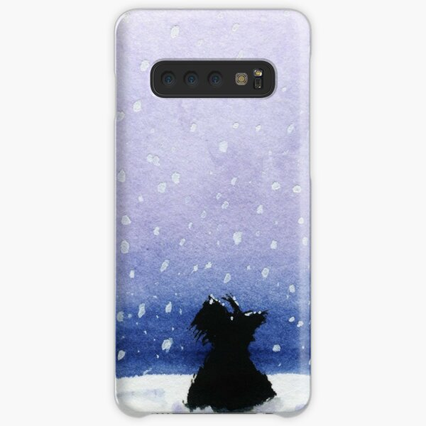 Scottie Dog 'Snowing' Samsung Galaxy Snap Case