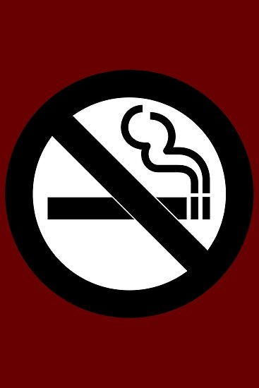 No Smoking Symbol Posters By Symbolical Redbubble