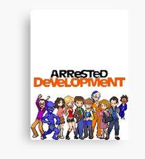 8-Bit Arrested Development Canvas Print