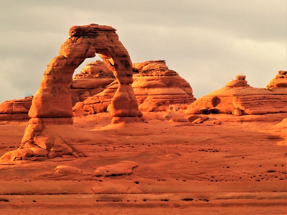 Delicate Arch by Ran Richards