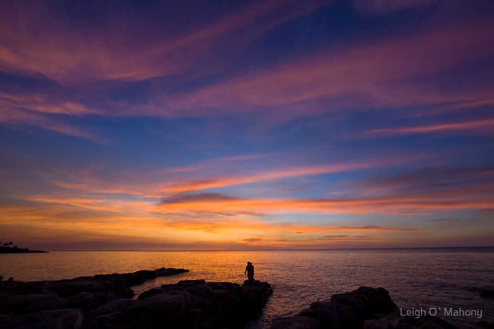 Colors of a Sunset by Leigh O`Mahony