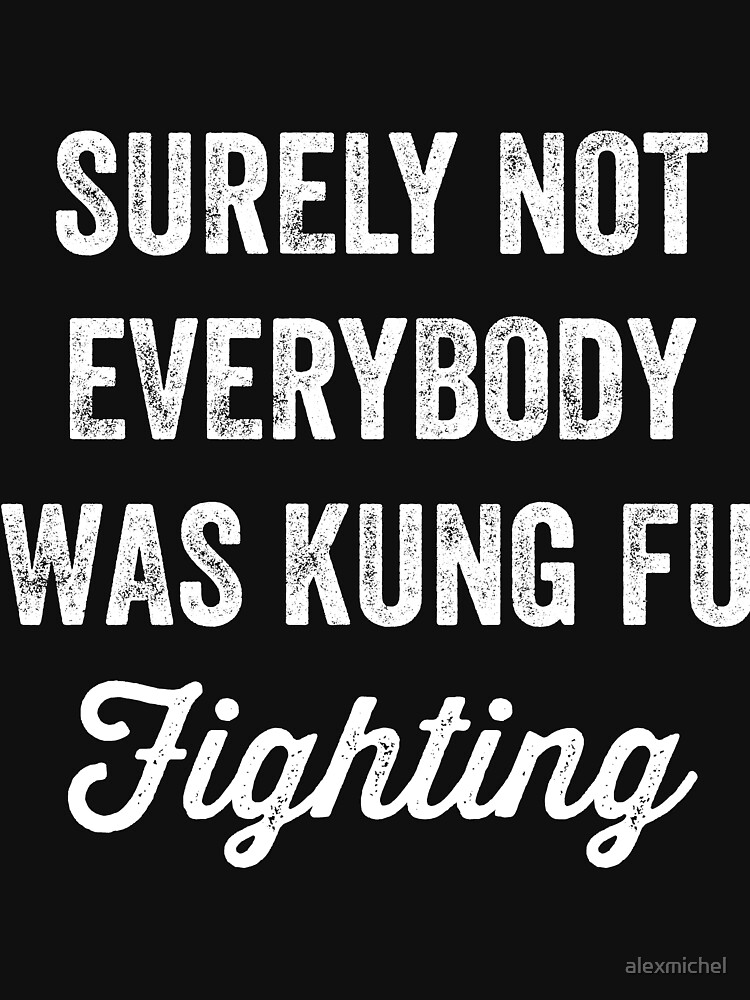 Surely not everybody was kung fu fighting - funny karate by alexmichel