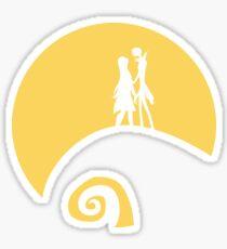 Jack and Sally Sticker