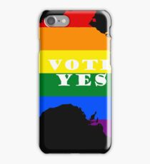 LGBT equality Australia, Vote Yes! iPhone Case/Skin