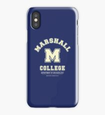 Indiana Jones - Marshall College Archaeology Department iPhone Case