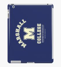 Indiana Jones - Marshall College Archaeology Department iPad Case/Skin