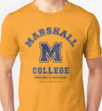 Indiana Jones - Marshall College Archaeology Department Distressed Variant  T-Shirt