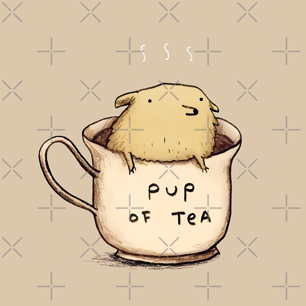 «Pup of Tea» de Sophie Corrigan