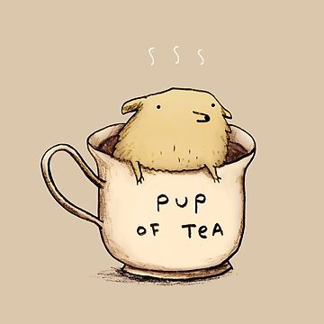 Pup of Tea de SophieCorrigan