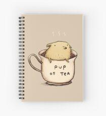 Pup of Tea Spiral Notebook