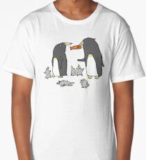 Penguin Family Long T-Shirt