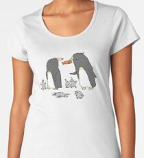 Penguin Family Women's Premium T-Shirt