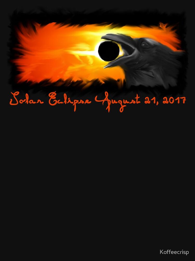 Solar Eclipse, Total Eclipse, 2017 Raven Graphic Art by Koffeecrisp