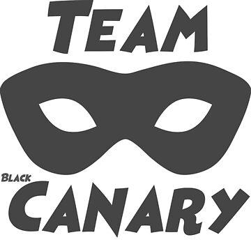 Team black Canary-Arrow by sarahxxdll
