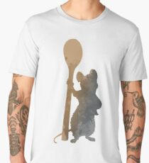 Rat with spoon Inspired Silhouette Men's Premium T-Shirt
