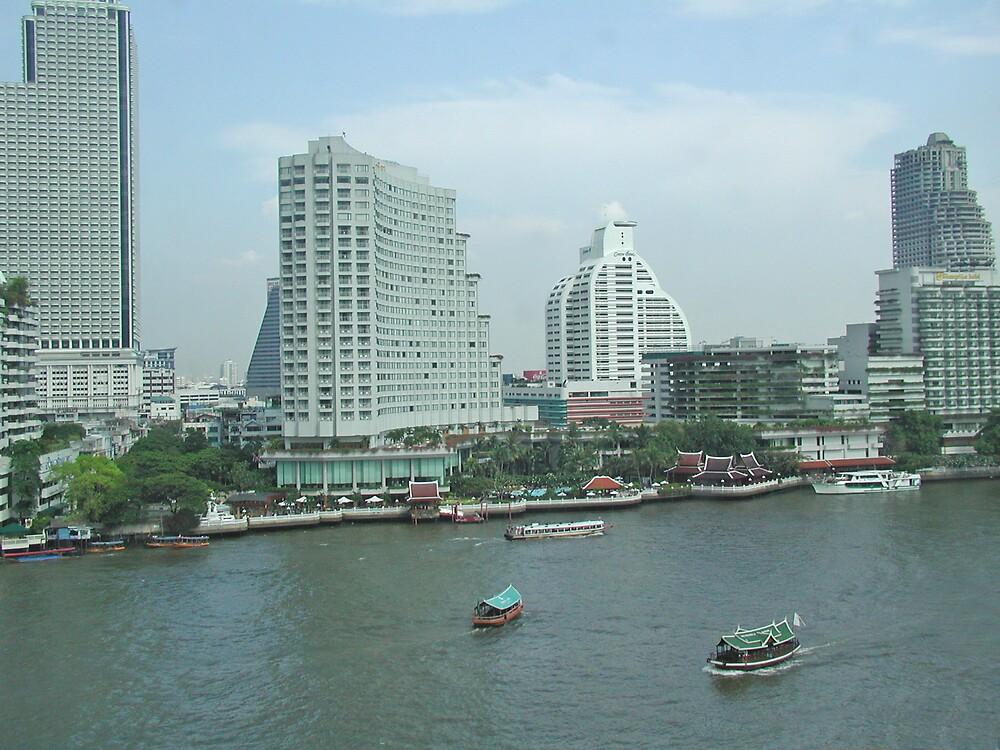 Bangkok Skyline by Tom  Reynen