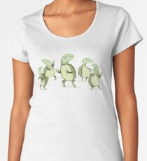 Dancing Turtles Women's Premium T-Shirt