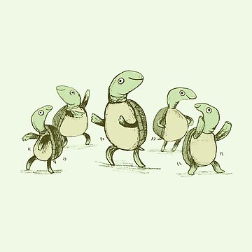 Dancing Turtles by SophieCorrigan