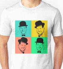 Laurel and Hardy Pop Art Tribute T-Shirt