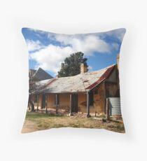 Historic Housing Throw Pillow