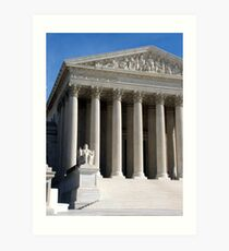 Supreme Court Art Print