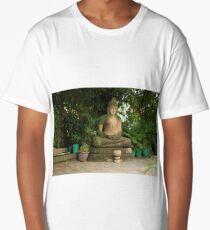 Cambodian Buddha. Long T-Shirt