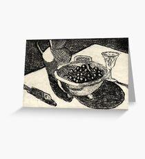 Picnic Table Greeting Card