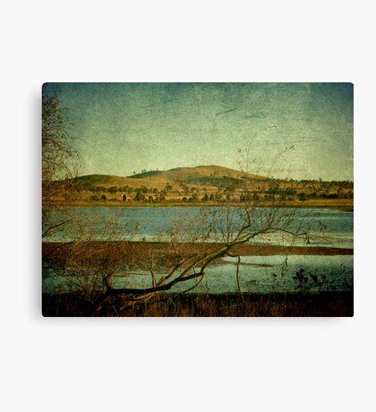 Afternoon on Dangars Lagoon, Northern Tablelands, NSW, Australia Canvas Print