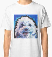 Fun Cavachon Dog bright colorful Pop Art Classic T-Shirt