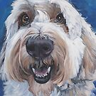 Polish Lowland Sheepdog Fine Art Painting by lashepard