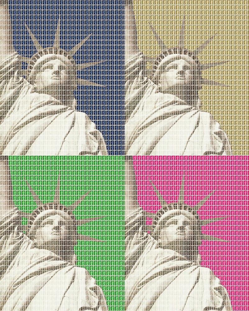 Liberty x 4 by Gary Hogben
