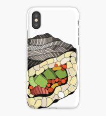 Sushi illustration iPhone Case/Skin