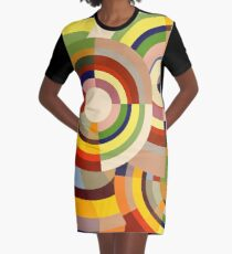 Colour Revolution SIX Graphic T-Shirt Dress