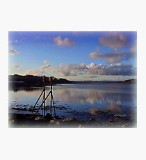 Reflections of Instow  Photographic Print