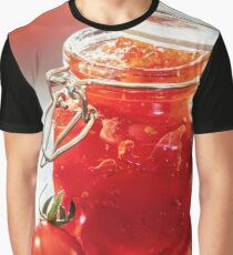 Tomato Jam in Glass Jar Graphic T-Shirt