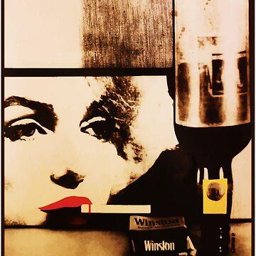 Marylin smokes Winston by MotherSky
