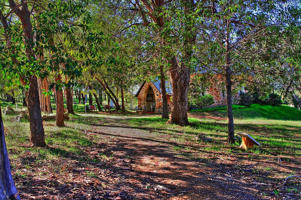 Country Church at Bindoon by georgieboy98